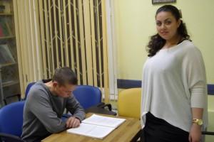 Урок русского языка, преподаватель Нуруллаева Регина