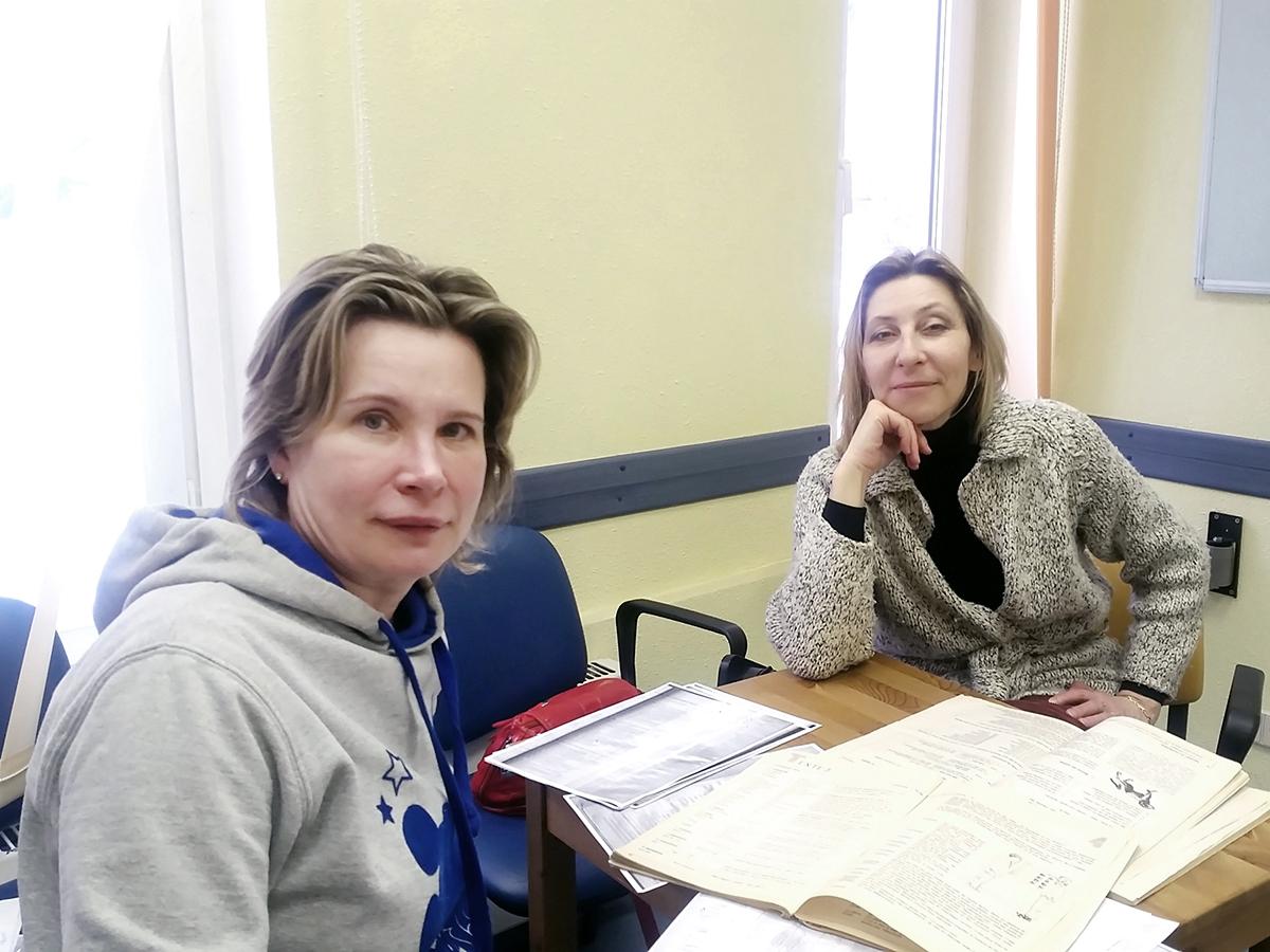 Урок французского языка, Общий курс для взрослых, преподаватель Белозерова Елена Николаевна